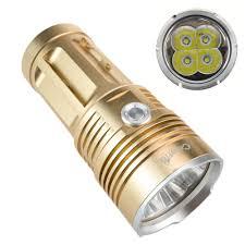 3 mode crazyfire led flashlight portable lantern 5000lumens cree