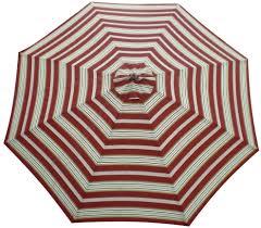 Patio Umbrella Replacement Canopy 8 Ribs by Market Umbrellas Colors