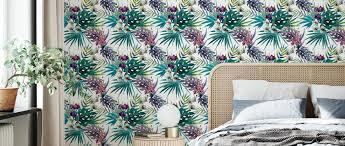 jungle watercolor pattern