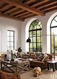 Steel Windows Incorporated In A Rustic Farmhouse Via Architectural Digest
