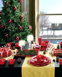 Christmas Dining Table Centerpiece View In Gallery Room Decorating Ideas