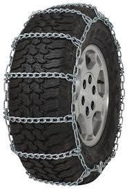 Quality Chain 2229 Non-cam 5.5mm Link Tire Chains Snow Traction SUV ...