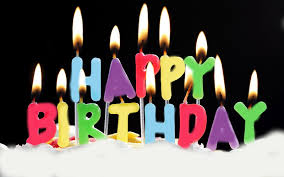 Happy Birthday Cake With Candles Wallpapers