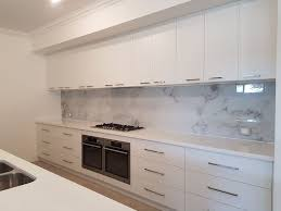 Create An Amazing Kitchen Feature With This Beautiful Marble Image Splashback