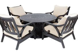 Patio Furniture Conversation Sets With Fire Pit by Elizahittman Com Firepit Table Set Agio Corseca 7pc Bar Set