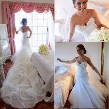 2016 glamorous custom made mermaid wedding dresses sweetheart
