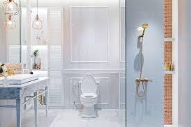 luxus weißes badezimmer interieur im französischen stil im