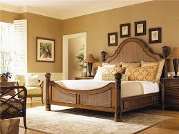 island estate size hill bed with woven panel inserts