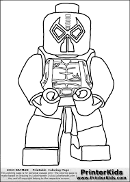 Lego Batman Coloring Page Pages Funycoloring Print Download