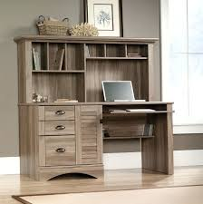 desk sauder beginnings desk with hutch cinnamon cherry finish