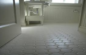 Tiling A Bathroom Floor On Concrete by Small Bathrooms White Hexagon Concrete Bathroom Floor Tile Eva