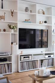 gantz wohnwand nach maß mit integriertem tv und hifi
