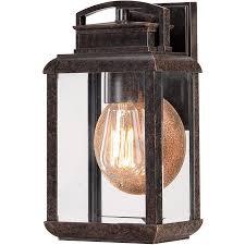 quoizel brn8406ib byron outdoor wall light in imperial bronze ebay