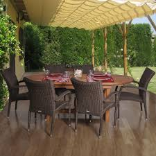 Patio Dining Sets Walmart by Patio Wood Patio Dining Set Pythonet Home Furniture
