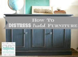 Distressed furniture Archives Chic California