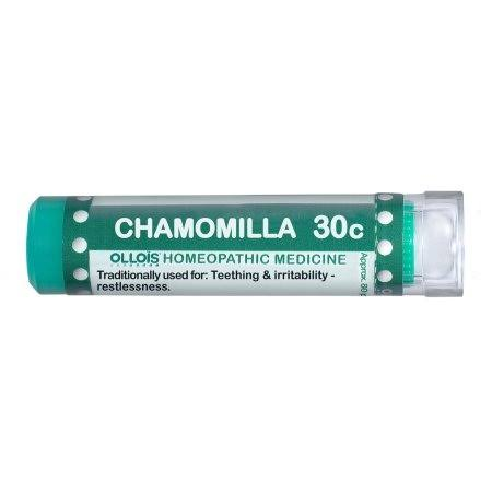 Ollois 30c Pellets Homeopathic Medicines Chamomilla - 80 Count