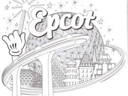Disney World Coloring Book Best Pages 21 In