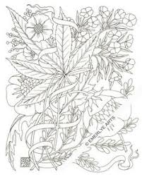 Free Printable Weed Coloring Pages Adult