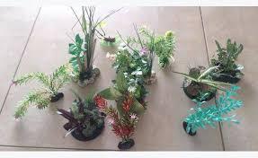 lot de plante artificiel pour aquarium annonce meubles et