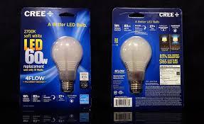 review cree s new 60 watt equivalent soft white better led bulb