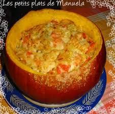 cuisiner le potimarron en l馮ume potimarron farci au boulghour et petits légumes les petits plats