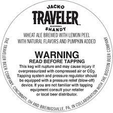 Travelers Pumpkin Beer by The Traveler Beer Company Cincinnati Ohio 45214 Beer Syndicate