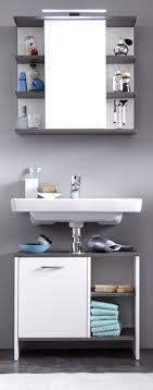 badezimmerschrank weiß sägerau waschbeckenunterschrank mezzo