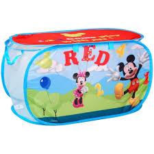 disney coffre à jouets panier de rangement enfant mickey disney