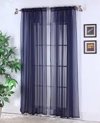 dark blue curtains pair two 50w panels navy blue ikat curtain
