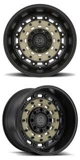100 4x4 Truck Rims Black Rhino Arsenal Desert Sand WGun Black Lip Wheel Rim 4wd