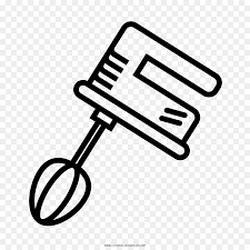 Mixer Drawing Immersion Blender Clip Art