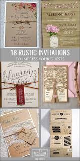 Rustic Wedding Invitations Cheap 24