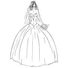 Clipart wedding dress clip art