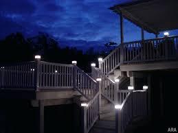 Home Depot Deck Lighting Solar by Solar Lights Deck Posts Light Post Caps X Faedaworks Com