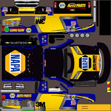 100 Napa Truck Parts Auto Chevy Silverado 2015 Custom Paint Scheme_V4A