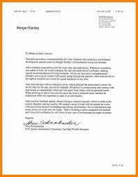 8 Morgan Stanley Cover Letter New Hope Stream Wood For Ste