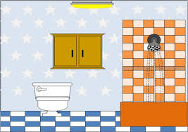 fort room clipart black and white 1