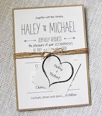 Diy Handmade Wedding Invitations As Your Chosen Easy On The Eye Invitation Media 6