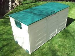 diy outdoor storage bench waterproof ideas great outdoor storage