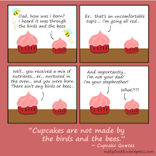Comic Strip On The Birds And Bees