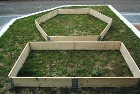 Pallet Garden Bed Raised Landscaping Beds From Pallets Collars Super Affordable Modular