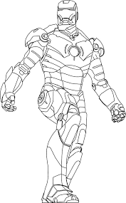 30 Iron Coloring Page Man The Avengers Best Pages
