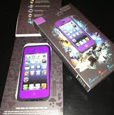 New Lifeproof case For iphone 5 Purple acce