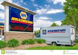 NAPA Auto Parts Store Sign And Truck Editorial Stock Image - Image ...