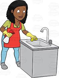 Kitchen Clipart Clean Place 2