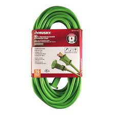 Floor Register Extender Home Depot by Husky 50 Ft 16 2 Outdoor Extension Cord 53050hy The Home Depot