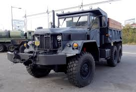 100 6x6 Truck Conversion M817 Dump Truck Upgraded With Turbo Charger And Air Brakes