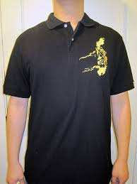 file 100 percent pinoy black polo shirt with map of pi on left