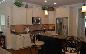 Charming Natural Hickory Kitchen Cabinets Antique White Kitchen