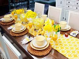 Brunch Table Decorations Ideas With Cups